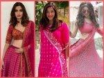 Hansika Motwani Diana Penty Mehreen Pirzadaa S Pink Outfits