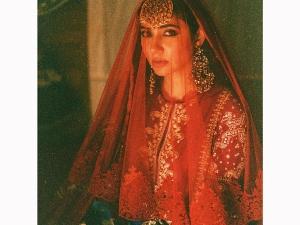Mahira Khan S Bridal Look For Elan Photoshoot