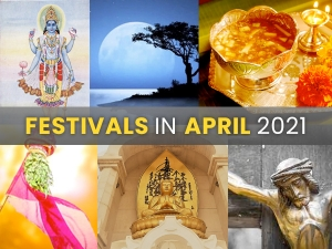 Festivals And Vrats In The Month Of April