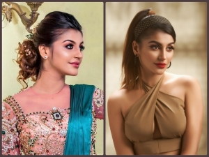 Yashika Aannand Gives Hairstyles Goals For Party And Wedding