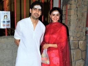 Gangubai Kathiawadi Actress Alia Bhatt Visits Temple With Ayan Mukerji On Maha Shivratri
