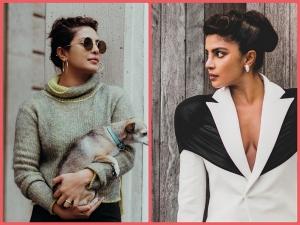 Priyanka Chopra Jonas Festive Perfect Bun Hairstyles From Her Instagram