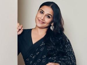 Natkhat Actress Vidya Balan S Look In Printed Saree On Instagram