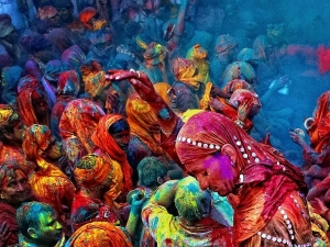Holi Celebration In Mathura Vrindavan