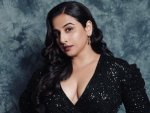Vidya Balan Shows Off Her Glamorous Side In A Black Sequin Gown On Instagram