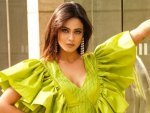 Shweta Tiwari S Pictures In Green Ruffle Gown On Instagram