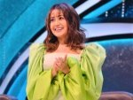 Neha Kakkar In A Green Dramatic Dress And Boots For Indian Idol S Latest Episode