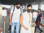 Ranbir Kapoor And Alia Bhatt Twin In White As They Head To Maldives Post Covid Recovery