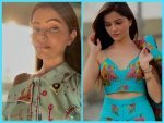 Shakti Actress Rubina Dilaik S Blue Pantsuit And Printed Dress On Instagram