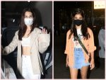 Kriti Sanon And Pooja Hegde In Stylish Jackets At The Airport