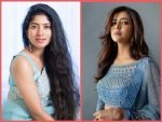 Sai Pallavi And Lakshmi Manchu S Blue Traditional Outfits
