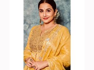 Vidya Balan S Anarkali And Gown Post On Instagram