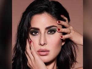 Katrina Kaif S Bold Olive Green Eye Makeup Look On Instagram