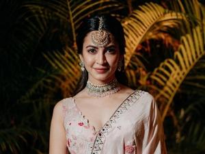 Shaadi Mein Zaroor Aana Actress Kriti Kharbanda In A Flowy Pastel Lehenga