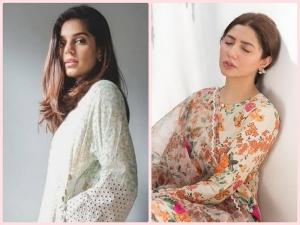 Mahira Khan And Sanam Saeed S Kurta Sets On Instagram