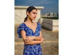Fatima Sana Shaikh S Maxi Dress For Ajeeb Daastaans Promotions