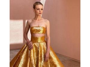 Promising Young Woman Actress Carey Mulligan S Oscar Dress