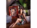 Jacqueline Fernandez Inspires Us With Her Vibrant Floral Dress And Dewy Makeup On Instagram