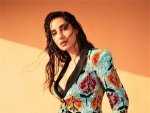 Nora Fatehi S Sizzling Pictures In A Sequin Multicolour Pantsuit On Instagram