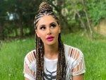 Nargis Fakhri S Cornrow Braid Half Bun Hairstyle On Instagram