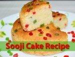 Sooji Cake Recipe