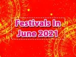 Festivals Vrats In The Month Of June