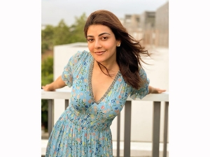 Special 26 Actress Kajal Aggarwal S Floral Midi Dress On Instagram