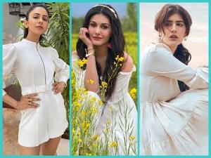 Rakul Preet Singh Sonia Rathee And Amyra Dastur Exude Fresh Vibes In Their White Dress