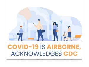 Covid 19 Transmitted Mainly Through Air Confirms Cdc