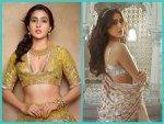 Sara Ali Khan S Lehenga Looks On Instagram