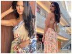Mouni Roy And Esha Gupta Give Summer Fashion Goals In Their Multicolour Floral Dress