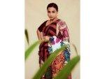Vidya Balan Starts The Promotional Round Of Sherni With A Tiger Inspired Saree
