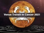 Effects Of Venus Transit In Cancer