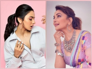 Madhuri Dixit And Rakul Preet Singh Give Summer Makeup Goals In Pastel Hues
