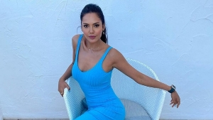Esha Gupta S Turquoise Blue Bodycon Dress From Marbella And Its Price