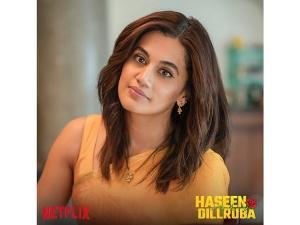 Taapsee Pannu S Mustard Yellow Saree Look From Haseen Dillruba