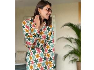 Special 26 Actress Kajal Aggarwal S Floral Weekend Wear On Instagram