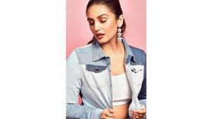 Huma Qureshi S Denim Outfit On Instagram For Bellbottom Inspiration