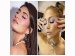 Jacqueline Fernandez Jennifer Lopez And Others Nail Lavender Eye Makeup