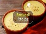 Basundi Recipe
