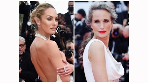 Celebrities In White Outfits At The Cannes Film Festival