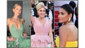 Hofit Golan Leonie Hanne And Farhana Bodi S Bun Hairstyles At Cannes