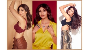 Shilpa Shetty S Stunning Outfits From Hungama 2 Promotions