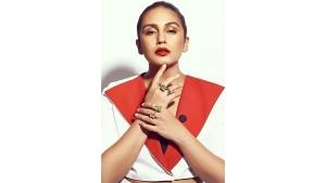 Huma Qureshi S Light Denim Power Suit On Instagram