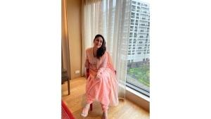 Kareena Kapoor Khan S Blush Pink Anarkali Set On Instagram