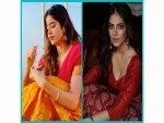 Janhvi Kapoor And Malavika Mohanan Stun Us With Their Onam Looks On Onam