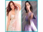 Hina Khan And Tamannaah Bhatia S Sarees On Instagram