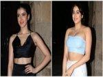 Janhvi Kapoor Shanaya Kapoor And Others In Stylish Outfits At Rhea Kapoor S Wedding Bash