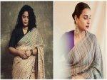 Saree Goals From Ashwiny Iyer Tiwari And Vidya Balan On Instagram