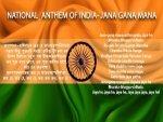 India National Anthem Jana Gana Mana Lyrics Meaning English